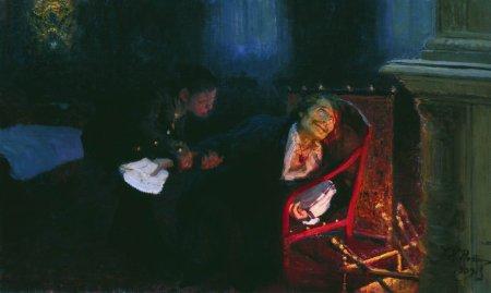 Gogol by Repin