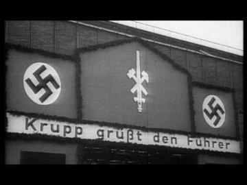 ο βιομηχανικός κολοσσός Krupp χαιρετάει τον Φύρερ
