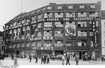 Berlin, Liebknecht-Haus am Bülowplatz
