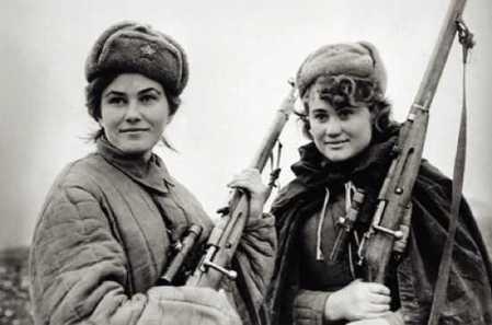 Γυναίκες ελεύθεροι σκοπευτές του Κόκκινου Στρατού