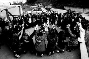 Ιερισσος γυναικες στα φυλακια 21-4-13, φωτ. Μάριος Λώλος