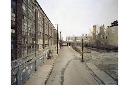 Φωτό από το άλλοτε βιομηχανικό κέντρο της πόλης
